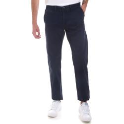 Oblačila Moški Hlače Chino / Carrot Gaudi 821BU25007 Modra