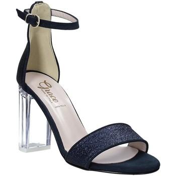 Čevlji  Ženske Sandali & Odprti čevlji Grace Shoes 018TR003 Modra