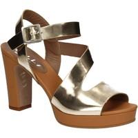 Čevlji  Ženske Sandali & Odprti čevlji Mally 5180 Zlato