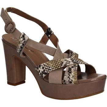 Čevlji  Ženske Sandali & Odprti čevlji Mally 5832 Rjav
