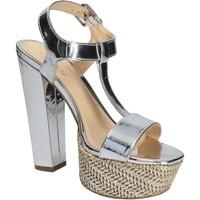 Čevlji  Ženske Sandali & Odprti čevlji Byblos Blu 672135 Srebro
