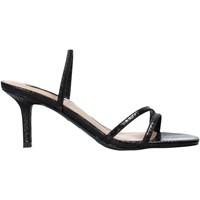 Čevlji  Ženske Sandali & Odprti čevlji Steve Madden SMSLOFT-BLKSNK Črna