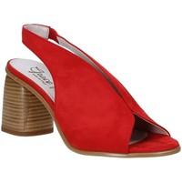 Čevlji  Ženske Sandali & Odprti čevlji Grace Shoes 492S001 Rdeča