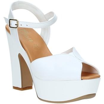 Čevlji  Ženske Sandali & Odprti čevlji Grace Shoes FLY Biely