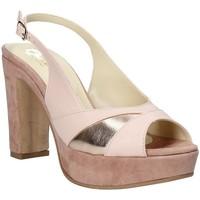 Čevlji  Ženske Sandali & Odprti čevlji Grace Shoes JN 093 Roza