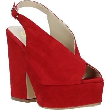 Čevlji  Ženske Sandali & Odprti čevlji Grace Shoes ALBA 107 Rdeča