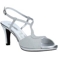 Čevlji  Ženske Sandali & Odprti čevlji Louis Michel 5016 Srebro