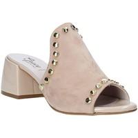 Čevlji  Ženske Natikači Grace Shoes 1576006 Bež