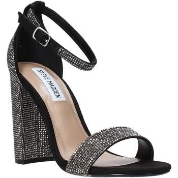 Čevlji  Ženske Sandali & Odprti čevlji Steve Madden SMSCARRSONR-BLK Črna