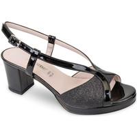 Čevlji  Ženske Sandali & Odprti čevlji Valleverde 45373 Črna