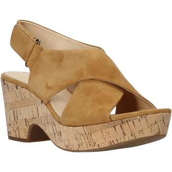 Čevlji  Ženske Sandali & Odprti čevlji Clarks 26140121 Bež