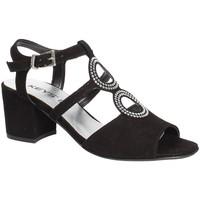 Čevlji  Ženske Sandali & Odprti čevlji Keys 5713 Črna