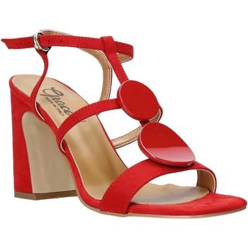 Čevlji  Ženske Sandali & Odprti čevlji Grace Shoes 2384008 Rdeča