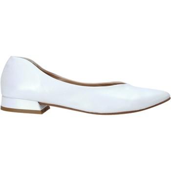 Čevlji  Ženske Balerinke Mally 6816 Biely