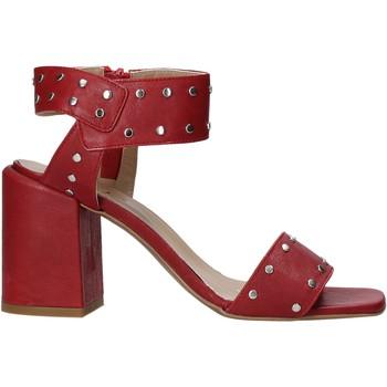 Čevlji  Ženske Salonarji Mally 6278B Rdeča