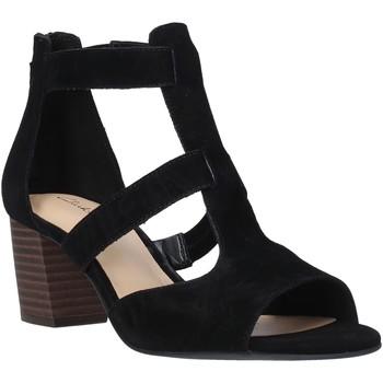Čevlji  Ženske Sandali & Odprti čevlji Clarks 26140652 Črna