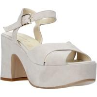 Čevlji  Ženske Sandali & Odprti čevlji Esther Collezioni RM133 Siva