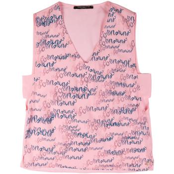 Oblačila Ženske Majice brez rokavov Fornarina BERT486C97366 Roza