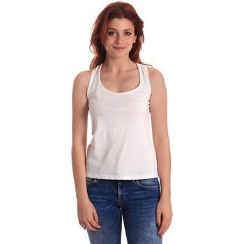 Oblačila Ženske Majice brez rokavov Fornarina SE175L04JG0709 Biely