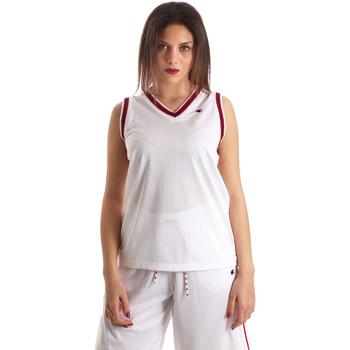 Oblačila Ženske Majice brez rokavov Champion 111382 Biely