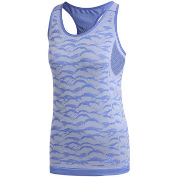 Oblačila Ženske Majice brez rokavov adidas Originals CF5138 Modra