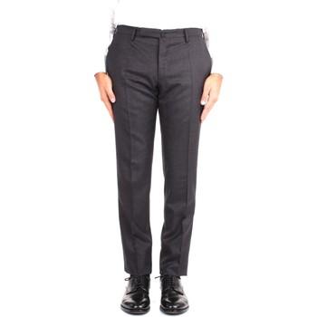 Oblačila Moški Elegantne hlače Incotex 1T0030 1394T 931 Grey
