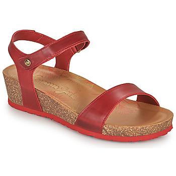 Čevlji  Ženske Sandali & Odprti čevlji Panama Jack CAPRI Rdeča