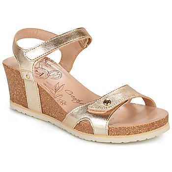Čevlji  Ženske Sandali & Odprti čevlji Panama Jack JULIA SHINE Pozlačena