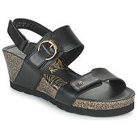 Čevlji  Ženske Sandali & Odprti čevlji Panama Jack VELVET Črna