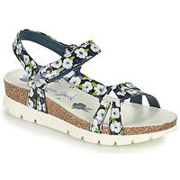 Čevlji  Ženske Sandali & Odprti čevlji Panama Jack SALLY GARDEN Modra