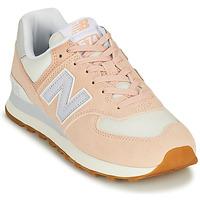 Čevlji  Ženske Nizke superge New Balance 574 Rožnata / Modra