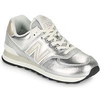 Čevlji  Ženske Nizke superge New Balance 574 Srebrna