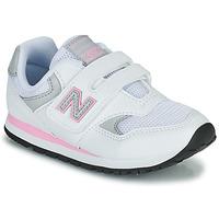 Čevlji  Deklice Nizke superge New Balance 393 Bela / Rožnata