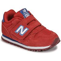 Čevlji  Dečki Nizke superge New Balance 373 Rdeča