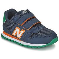 Čevlji  Dečki Nizke superge New Balance 500 Modra / Oranžna