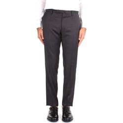 Oblačila Moški Hlače Chino / Carrot Incotex 1T0030 1393T Grey