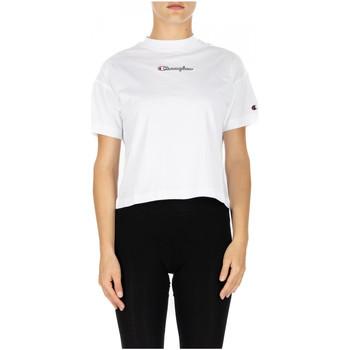 Oblačila Ženske Majice & Polo majice Champion CREWNECK T-SHIRT ww001-wht
