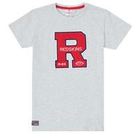 Oblačila Dečki Majice s kratkimi rokavi Redskins TSMC180161-BLENDED-GREY Siva