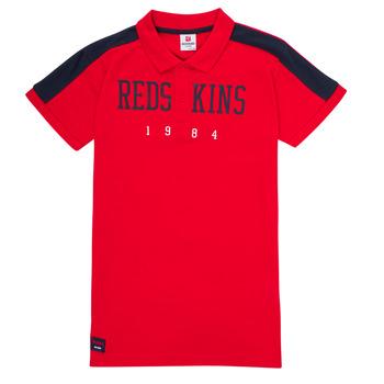 Oblačila Dečki Polo majice kratki rokavi Redskins PO180117-RED Rdeča