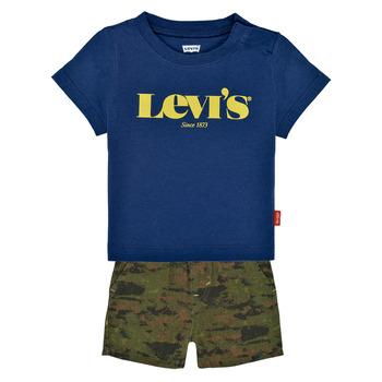 Oblačila Dečki Otroški kompleti Levi's 6EC678-U29 Večbarvna