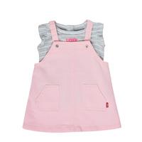 Oblačila Deklice Otroški kompleti Levi's 1ED091-A4U Rožnata