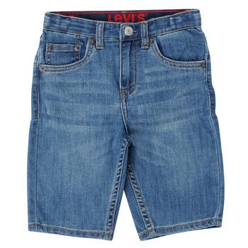 Oblačila Dečki Kratke hlače & Bermuda Levi's PERFORMANCE SHORT Modra