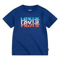 Oblačila Dečki Majice s kratkimi rokavi Levi's 8EC826-U29 Modra