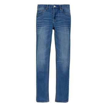 Oblačila Dečki Jeans skinny Levi's 510 ECO PERFORMANCE Modra