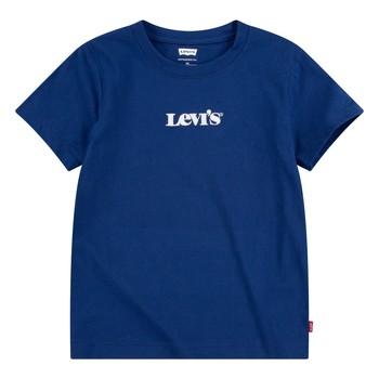 Oblačila Dečki Majice s kratkimi rokavi Levi's 9EC912-U29 Modra