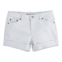 Oblačila Deklice Kratke hlače & Bermuda Levi's 4E4536-001 Bela