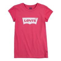 Oblačila Deklice Majice s kratkimi rokavi Levi's BATWING TEE SS Rožnata
