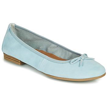 Čevlji  Ženske Balerinke Tamaris ALENA Modra