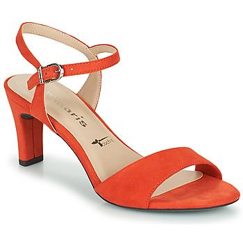 Čevlji  Ženske Sandali & Odprti čevlji Tamaris MELIAH Rdeča