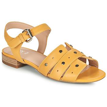 Čevlji  Ženske Sandali & Odprti čevlji Geox D WISTREY SANDALO C Rumena